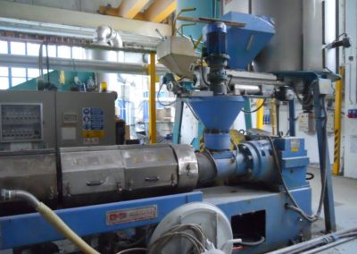 PREALPINA PELLETIZER for PE PP PS PC EPS ABS, 160 mm. ref. GE202