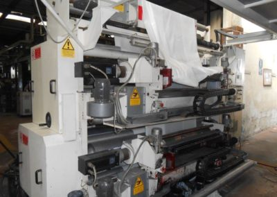 MAFLEX FLEXO PRINTIN UNIT  in-line, 4 col. AK316
