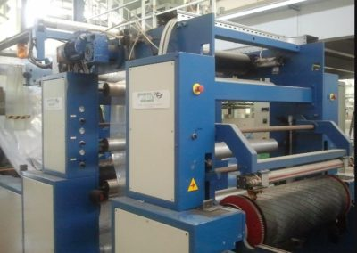 O.M.G.M.FILM EXTRUSION LINE for HDPE ref.AK600