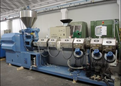 BAUSANO TWIN SCREW EXTRUDER 90/36 2008 ref.1M110