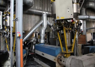 MACCHI PLASTEX COEX BLOWN FILM LINE 1800 mm.Ref.MT287