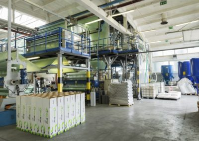 ZOCCHI COEXTRUSION LINE 3 LAYERS for stretch film ref. ED100