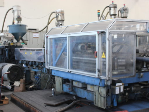 AMUT Complete corrugated double-wall HDPE line Ref.1M164