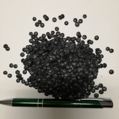 BLACK RECYCLED LDPE FILM GRADE
