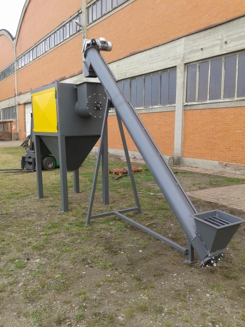 LOADING AUGER, new machine Ref.GE1032