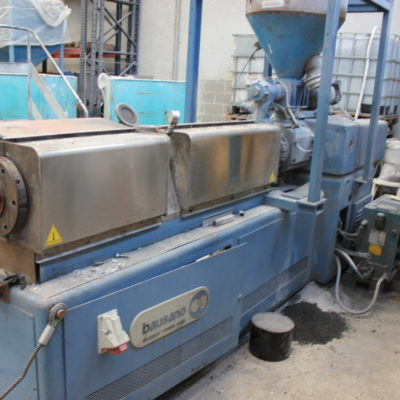 second hand twin screw pelletizer