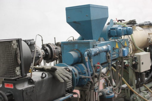 Complete EXTRUDER line for pipes.