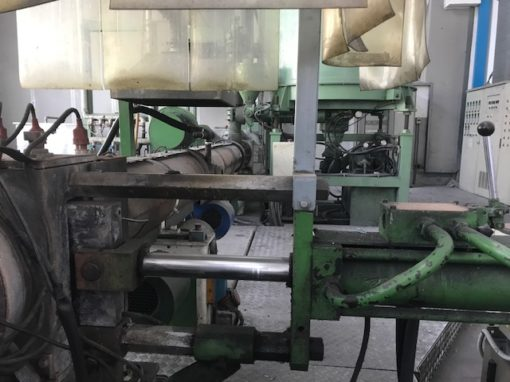 used pelletizer recycling extruder