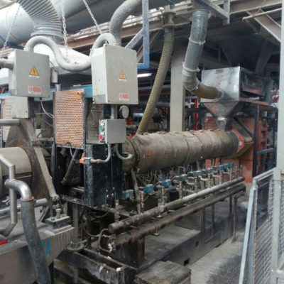 ICMA twin-screw extruder