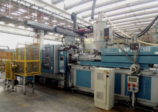 Second hand plastic machinery