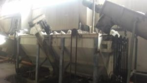 Washing repelletizing line PE PP