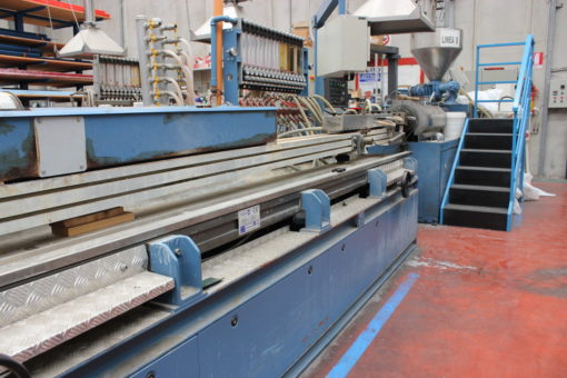 EXTRUSION LINE BAUSANO TWIN SCREW