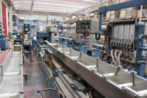 BAUSANO TWIN SCREW EXTRUDER for pipes/profiles