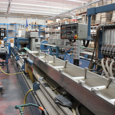 BAUSANO TWIN SCREW EXTRUDER pipes/profiles
