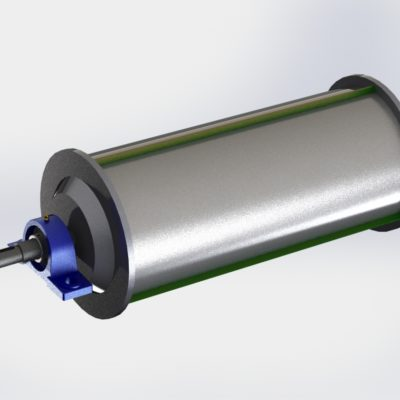MAGNETIC DRUM METAL SEPARATOR