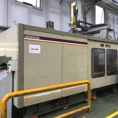 NEGRI BOSSI Injection molding 1000 Ton.
