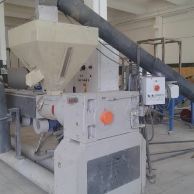 TECNOVA PET RECYCLING EXTRUDER screw 105 mm