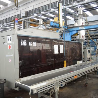 BMB MC 350 Ton. Injection Molding
