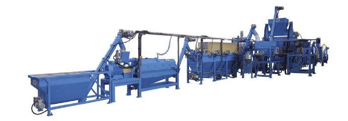 NEW BOTTLE FLAKES WASHING LINE 800 kg/h