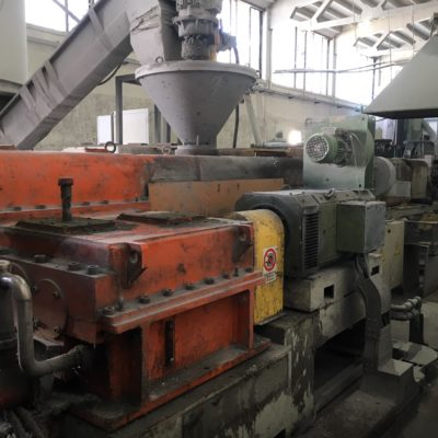 ICMA S.GIORGIO TWIN SCREW COROTATING EXTRUDER