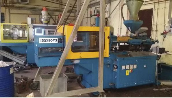 Injection moulding 50 tons BOY 50 T2