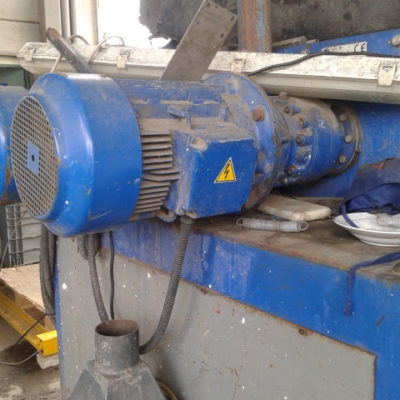 ISVE DUAL SHAFT SHREDDER