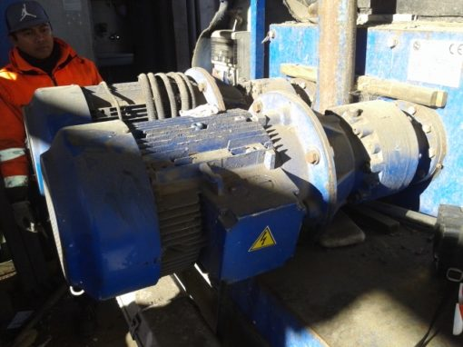 ISVE COMBI SHREDDER 800 USED