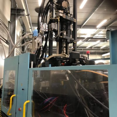 DEMAG Injection molding 200 ton.