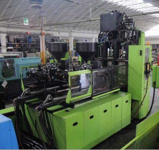 ENGEL 200 Ton. Injection Molding ES 1050 H