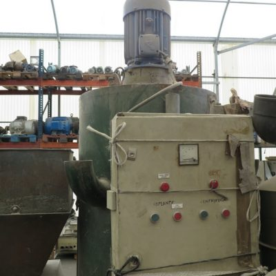 VERTICAL DRYING CENTRIFUGE 15 Hp