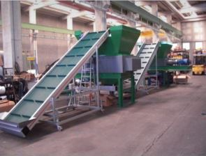 TIRE RECYCLING LINE 4 T/h of 4 mm granulate