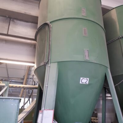 vertical mixer 5 tons, used