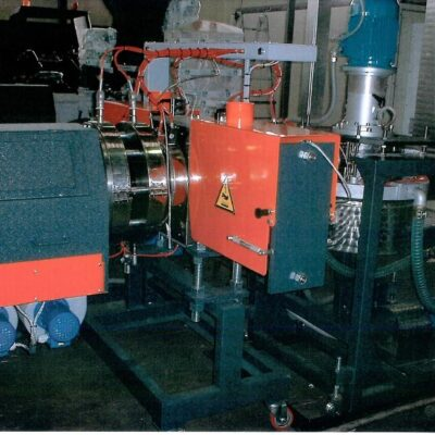 1 ton/h used extruder