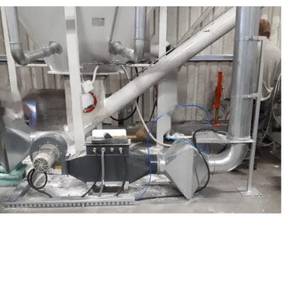 DRYING SYSTEM FOR VERTICAL MIXERS